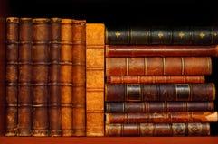 Kulturerbe Bücher in den Weinlese-Bibliotheken lizenzfreie stockfotos