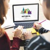 Kulturreise-Standort-Schrein-traditionelles Konzept Stockfotos
