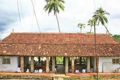 KulturturismLankathilaka tempel Arkivfoton