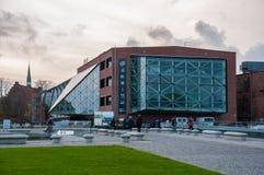 Kulturvaerftet文化围场是一个文化中心 免版税库存照片
