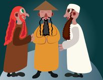 Kultury świat 1 royalty ilustracja