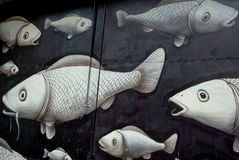 kultury festiwalu graffiti miastowi Fotografia Stock