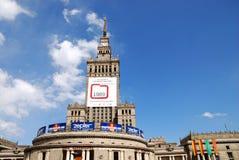 kultury pałac nauka Warsaw zdjęcie stock