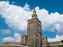 kultury pałac nauka Warsaw Obraz Stock