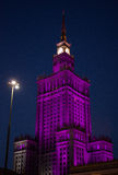 kultury pałac nauka Warsaw Obrazy Stock