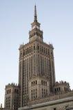 kultury pałac nauka Warsaw Zdjęcia Royalty Free