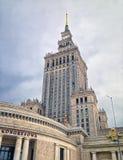 kultury pałac Poland nauka Warsaw Zdjęcie Royalty Free