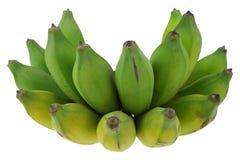 Kultywujący banan na białym tle Zdjęcia Royalty Free