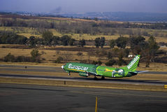 Kulula Airways - Boeing 737-4S3 - ZS-OAO - takeoff Stock Image