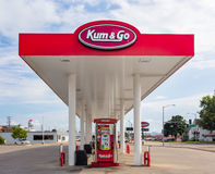 Kum & Go Exterior and Sign Stock Image