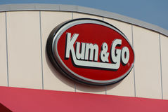 Kum & Go Exterior and Sign Stock Photography