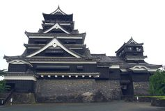 kumamoto της Ιαπωνίας κάστρων στοκ φωτογραφία με δικαίωμα ελεύθερης χρήσης