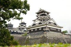 KUMAMOTO - 16-ОЕ ДЕКАБРЯ: Ландшафт замка Kumamoto, Японии Стоковые Изображения