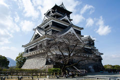 Kumamoto Castel Photographie stock libre de droits