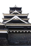 Kumamoto Castle. Is a hilltop Japanese castle located in Kumamoto in Kumamoto Prefecture Stock Images