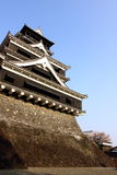 Kumamoto Castle. Is a hilltop Japanese castle located in Kumamoto in Kumamoto Prefecture Royalty Free Stock Images