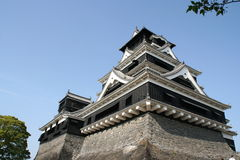 Kumamoto castle Stock Image