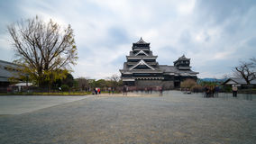 Kumamoto Castle in Japan Royalty Free Stock Photo