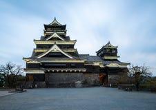 Kumamoto Castle in Japan Stock Photography
