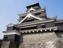 Kumamoto castle, Japan Royalty Free Stock Photos