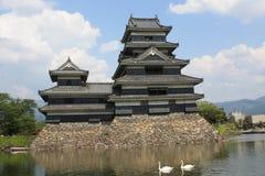 Matsumoto Castle in Japan. Stock Photos