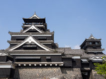 Kumamoto castle, Japan Royalty Free Stock Image