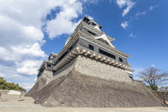 Kumamoto Castle in Japan Royalty Free Stock Photos