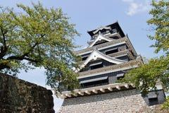 Kumamoto Castle in Kumamoto Japan. Kumamoto,Japan - May 2, 2014: Kumamoto Castle is a hilltop Japanese castle located in Chūō-ku, Kumamoto in Kumamoto Stock Photo
