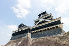 Kumamoto Castle in Kumamoto Japan. Kumamoto,Japan - May 2, 2014: Kumamoto Castle is a hilltop Japanese castle located in Chūō-ku, Kumamoto in Kumamoto Royalty Free Stock Photography