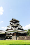 Kumamoto Castle in Kumamoto Japan. Kumamoto,Japan - May 2, 2014: Kumamoto Castle is a hilltop Japanese castle located in Chūō-ku, Kumamoto in Kumamoto Stock Images