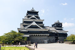 Kumamoto Castle in Kumamoto Japan Royalty Free Stock Photo