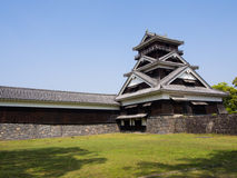 Kumamoto Castle tower, Japan Royalty Free Stock Image