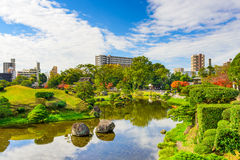 Kumamoto Japan Gardens Stock Image