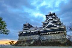Kumamoto kasztel w Kumamoto Obrazy Royalty Free