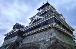 Kumamoto kasztel w Kumamoto Fotografia Stock