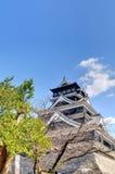 Kumamoto-Schloss Stockfotografie