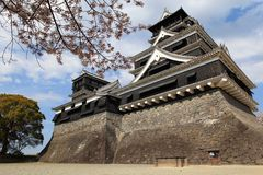 Kumamoto-Schloss Lizenzfreie Stockfotografie