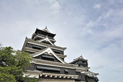 Kumamoto-Schloss Lizenzfreies Stockfoto