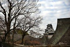 Kumamoto-Schloss Lizenzfreies Stockbild