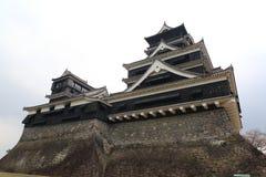 Kumamoto slott Royaltyfria Bilder