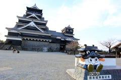 Kumamoto slott Arkivbilder