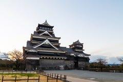Kumamoto slott Royaltyfri Bild