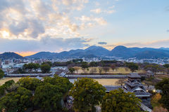 Kumamoto slott, Japan, Kumamoto - 06 December 2014 Royaltyfri Fotografi