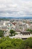 Kumamoto stad i Japan Arkivbild