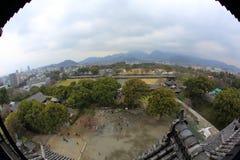 Kumamotokasteel Stock Afbeeldingen