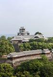 Kumamotokasteel in Kyushu, Japan Stock Afbeeldingen