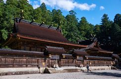 Kumano Hongu Taisha shinto shrine Stock Photography