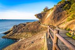 Kumano, Japonia wybrzeże zdjęcia stock
