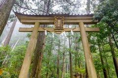 Kumano Kodo av Japan arkivbilder