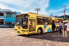 Kumano loop bus in Wakayama, Japan Royalty Free Stock Photo